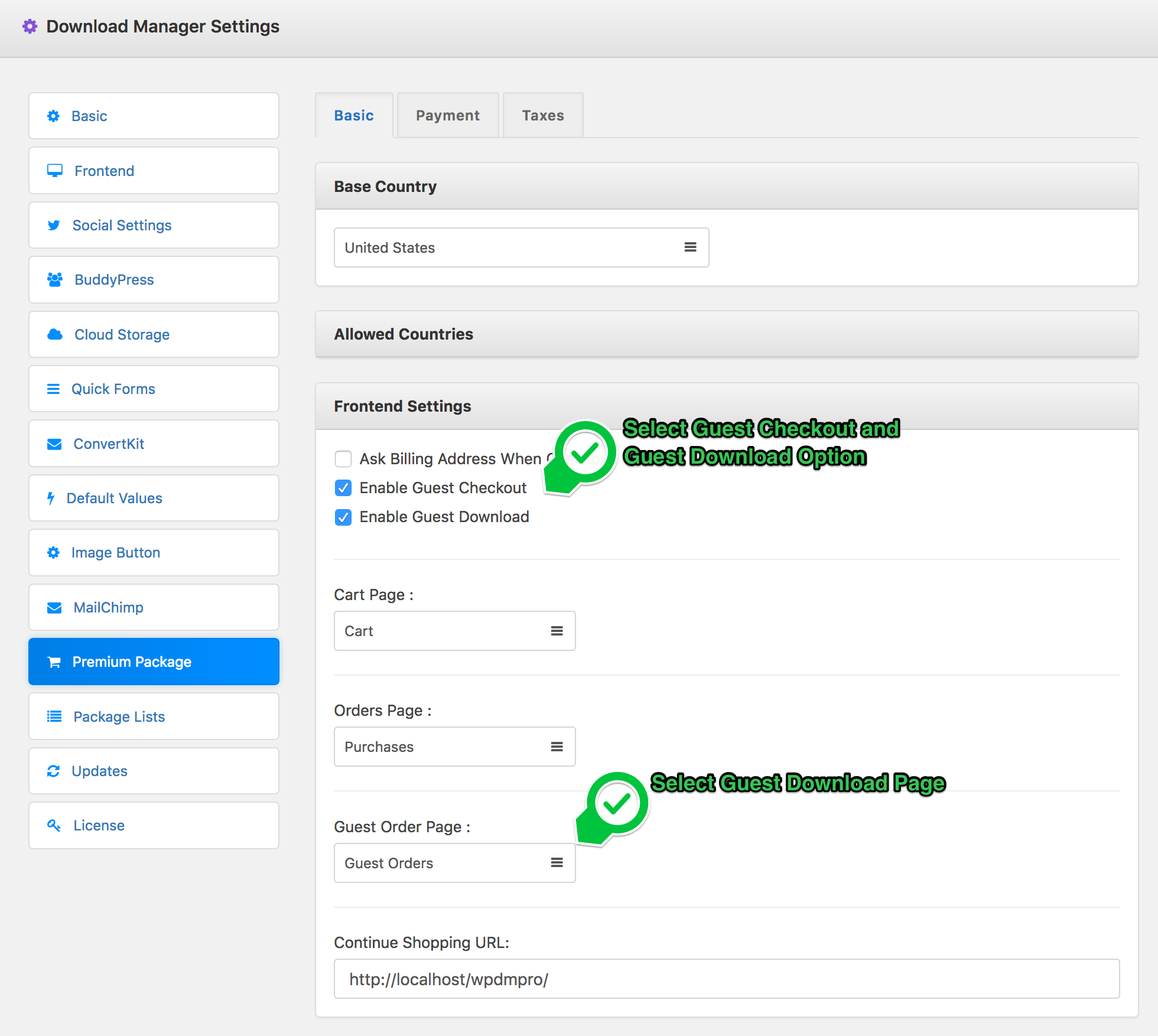 How to use Guest Checkout and Download - WordPress Download Manager